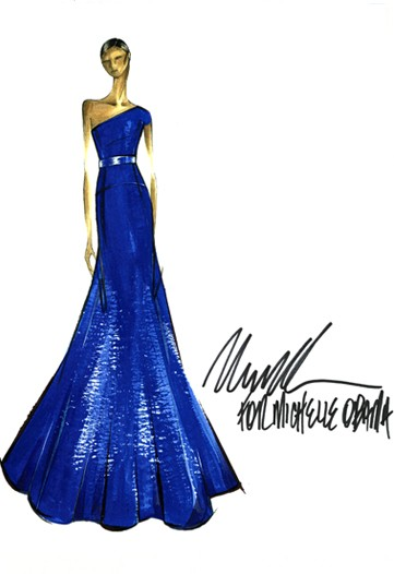 Michelle.Obama.SKETCH.Michael.Kors