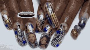 Obamanails