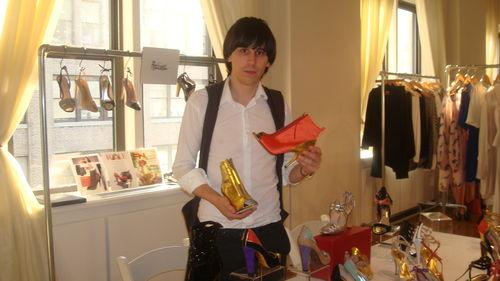 Jerome.C.Rousseau.Spring09.orange.gold.boots