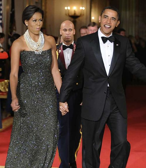 President.First.Lady.Obama.Governors.Ball.Feb.22.2009
