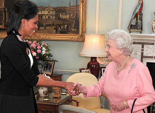 First.Lady.Michelle.Obama.Queen.Elizabeth