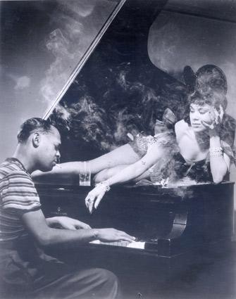 Katherine Dunham with Garland Wilson, circa 1940s.